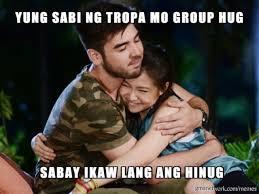Group Hug Meme - group hug na solo gma meme generator