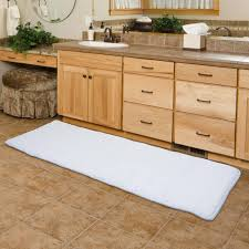 Plush Runner Rugs Bathroom Flooring Plush Bath Room Mat Comfort Runner