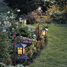 Landscaping Solar Lights Brighten Up With Hanging Solar Lights Light Decorating Ideas