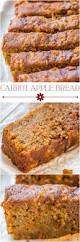 carrot apple bread averie cooks