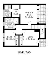 Unit Floor Plans Hawks Nest Beach Holiday House Rentals Floor Plan Holiday House 3