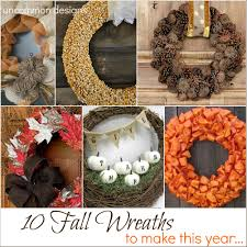 burlap halloween wreath 10 fall wreaths to make this year uncommon designs