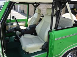 jeep backseat we just did some custom pro car elite high back front seats for a
