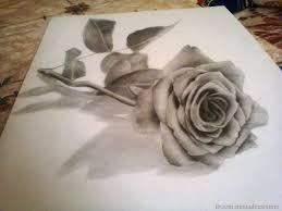 3d rose by moudi art on deviantart