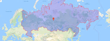 russia map map given a map of russia can you place moscow the