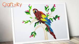 paper quilling birds tutorial paper quilling frame how to make paper quilling bird paper