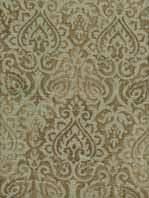 Silk Drapery Fabric By The Yard Kashmir Vapor Gray Paisley Look Faux Silk Drapery Fabric Sw50000