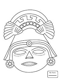 coloring pages aztec warrior arts culture aztec art colorpages7