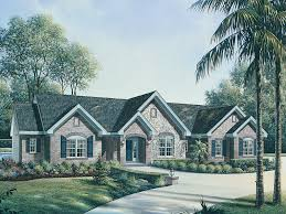 one country house plans le chateau one home plan 007d 0117 house plans and more
