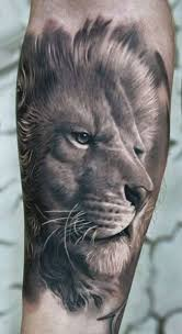 tattoos for lions confidence and beast