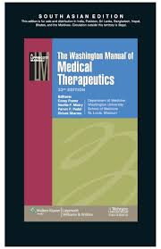 the washington manual of medical therapeutics 33th edition buy