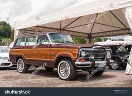 jeep wagoneer concept mugello italy may 2017 offroad jeep stock photo 726187453