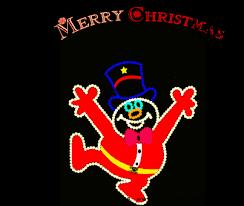 american animated gif animated merry