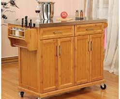 kitchen islands with stainless steel tops modern kitchen islands carts allmodern pertaining to kitchen cart