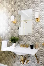 tips for rocking bathroom wallpaper nostalgic styled wallpaper