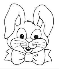 bunny face coloring 9593 bestofcoloring