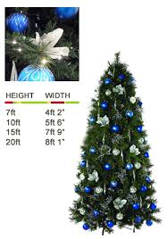 Christmas Tree Decorations In Blue And Silver our range of christmas trees ambius uk