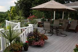 deck plantings sorta like suburbia