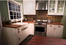 metal backsplash for kitchen tin backsplash kitchen home design and decor