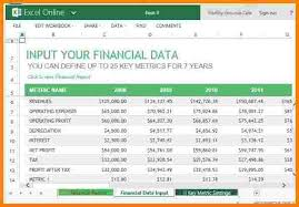 Financial Templates For Excel Financial Template Excel Template
