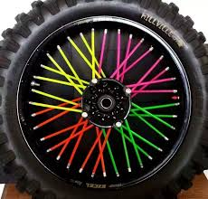 wheels motocross bikes motocross dirt bike enduro wheel rim spoke shrouds skins covers