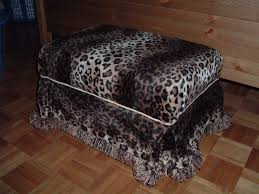 living room leopard print chair ottoman with and coffee table