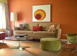 living room accent wall paint colors for with dark brown couch and