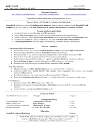 Administrative Assistant Duties For Resume Sample Resume For Administrative Assistant Office Manager 87 Cool