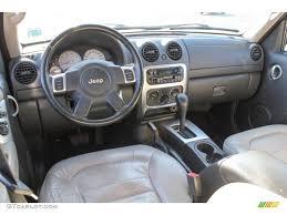 jeep liberty 2003 4x4 2003 jeep liberty limited 4x4 light taupe slate gray