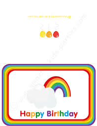 kids party ideas rainbow party
