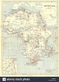 Congo Africa Map Africa Congo Free State Darfur Kurdufan Barca Mountains Of Stock