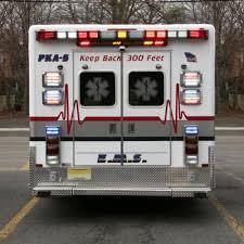 whelen ambulance light bar whelen 4500 series led ambulance lightbar front rear facing 45b