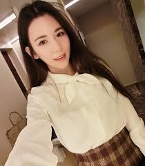 plus nao rakuten global market long sleeved blouse ribbon tie