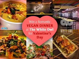 vegan s day mumbai win a s vegan dinner at the white owl