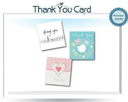 thank you card size acc product detail thank you card printing s best working