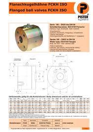 K Henkatalog Fckh Iso 6164 Pister Kugelhähne Pdf Katalog Technische