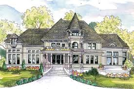 Victorian Mansion Blueprints by Large Victorian House Plans Home Design And Style