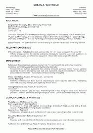 Recent Graduate Resume Example by A Superb Example Of How To Write A Nurse Resume Which Highlights A