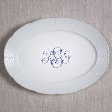 monogrammed platter nicholas monogram monogrammed dishes dinnerware wedding