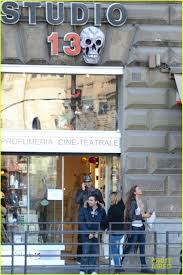 halloween city adrian mi adrien brody u0026 lara lieto halloween shopping in rome photo