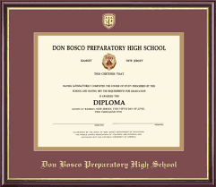 framing diplomas framing success diploma frame don bosco prep cus store