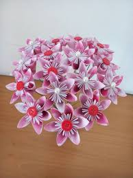 cara membuat bunga dengan kertas hias membuat kerajinan bunga anggrek dari kertas kado rumah kreative