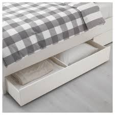 Hemnes Bed Frame by Hemnes Bed Frame With 4 Storage Boxes Queen Luröy Slatted Bed