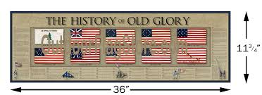 Grand Old Flag History Of The American Flag Old Glory Prints Outdoor Flag Store