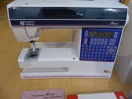 husqvarna viking rose 600 computerized sewing embroidery machine