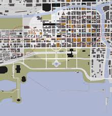 Grant Park Map Chicago by Greater Loop