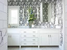 Wallpapered Bathrooms Ideas 136 Best Wallpaper Images On Pinterest Wallpaper Ideas Fabric