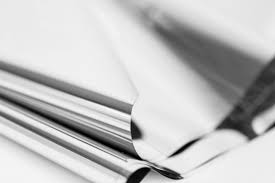 mylar tissue paper silver mylar metallic silver mylar tissue paper by soireesupply