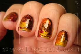 seasonal fall nail designs design trends dark red loversiq
