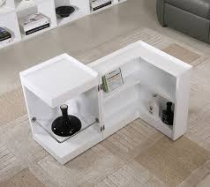 Mini Bar Table Modern End Table With Mini Bar Chicago Furniture Stores